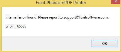 FoxitPDF_error