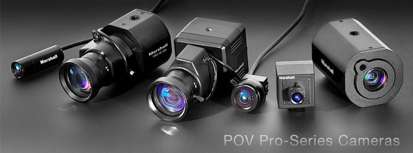 Marshall POV Pro-Series Cameras